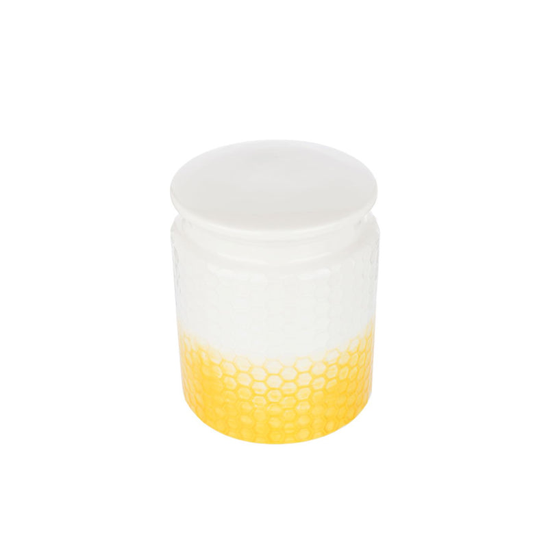 KITCHEN PANTRY UTENSIL HOLDER - YELLOW