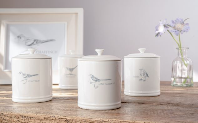 Mary Berry Robin Sugar Canister