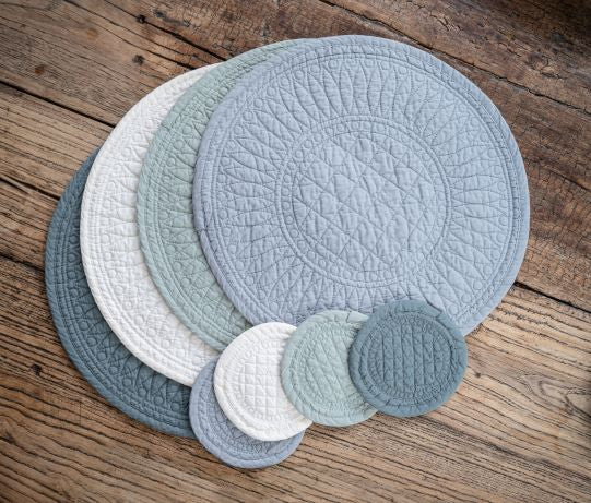 Mary Berry Set of 4 Signature Coasters in Ivory - SAK Home