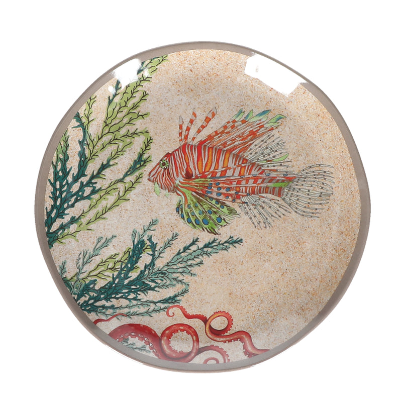 Rose & Tulipani - Sea Life Dinner Plates 19.5cm - Set of 2
