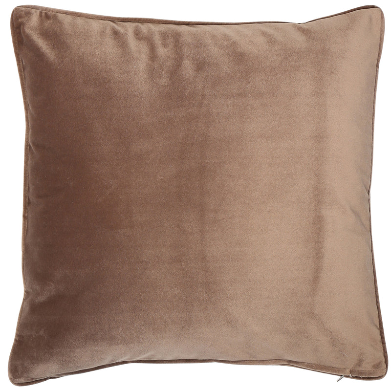 Luxe Truffle Cushion 43 x 43