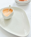Sophie Conran for Portmeirion Shell Shaped Serving Platter & Bowl