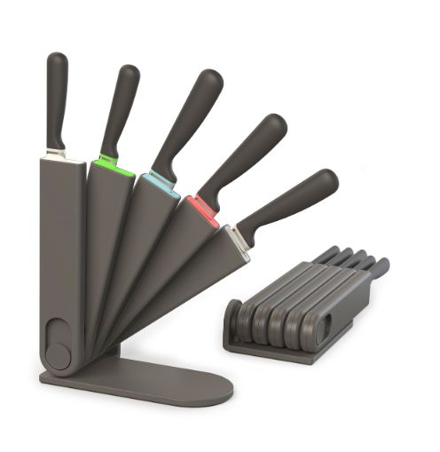 KNIFE BLOCK SET (FREE STANDING OR WALL MOUNTED) - SAK Home