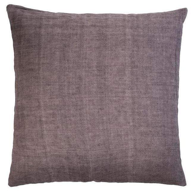 Luxury Light Linen Cushion - Plum - SAK Home