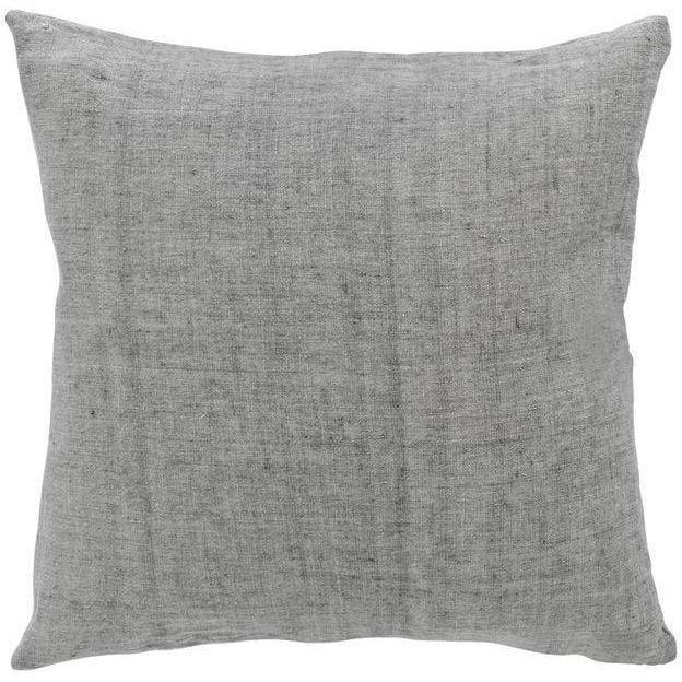 Luxury Light Linen Cushion - Silver - SAK Home