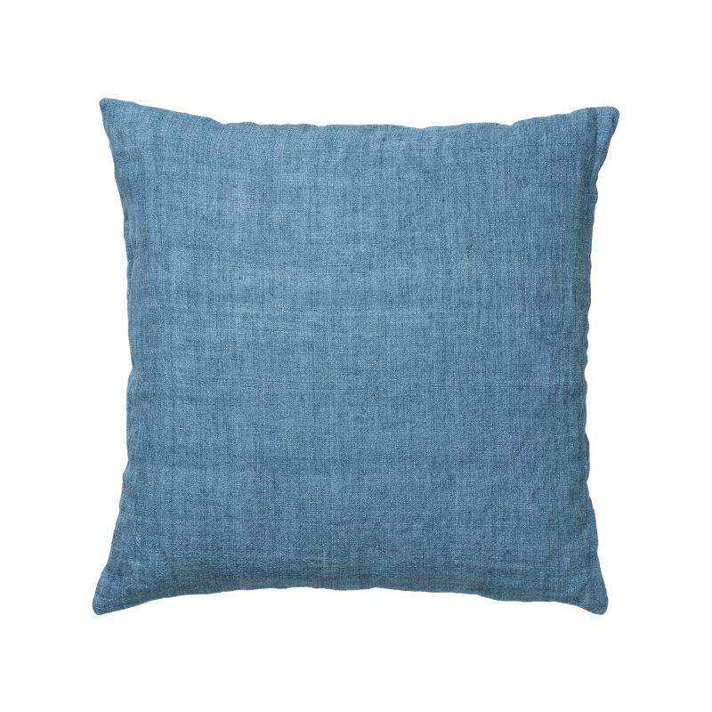 Luxury Light Linen Cushion - Turquise - SAK Home