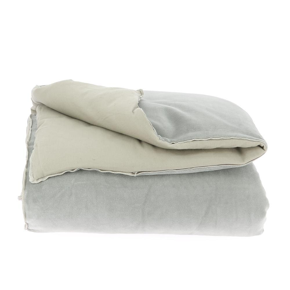 Velvet Cotton Bedspread - Souris - SAK Home