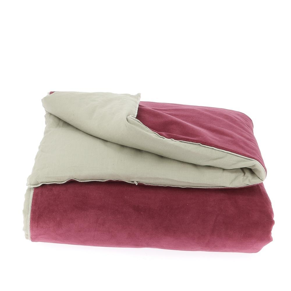 Velvet Cotton Bedspread - Terre Rouge - SAK Home