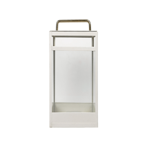 Lantern Clear - MAT WHITE - L - SAK Home