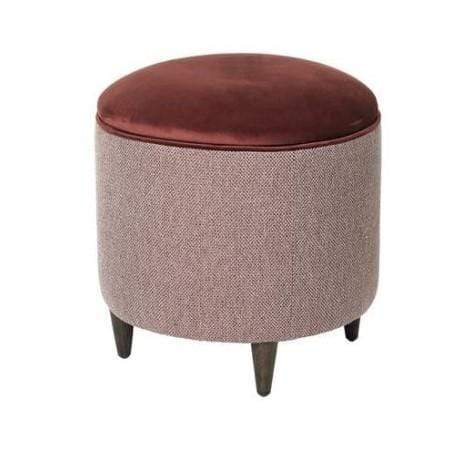 Nini Storage Pouf - Cherry - SAK Home