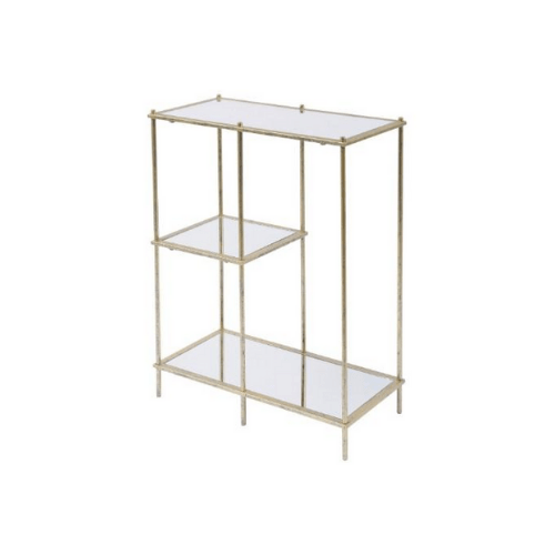Mylas Modular Shelving Unit With Mirrored Panels - SAK Home