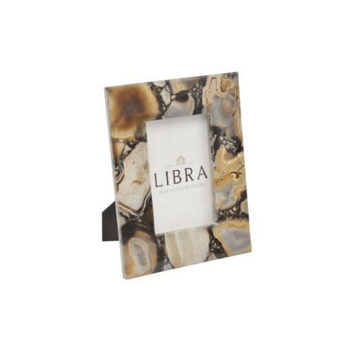 Oleta Black Agate 4 x 6 Inch Photo Frame - SAK Home