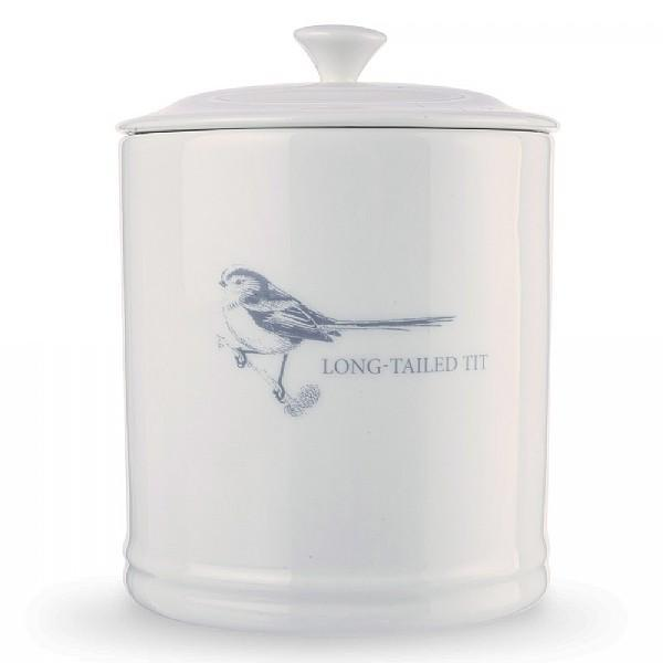 Mary Berry Long Tailed Tit Coffee Canister - SAK Home