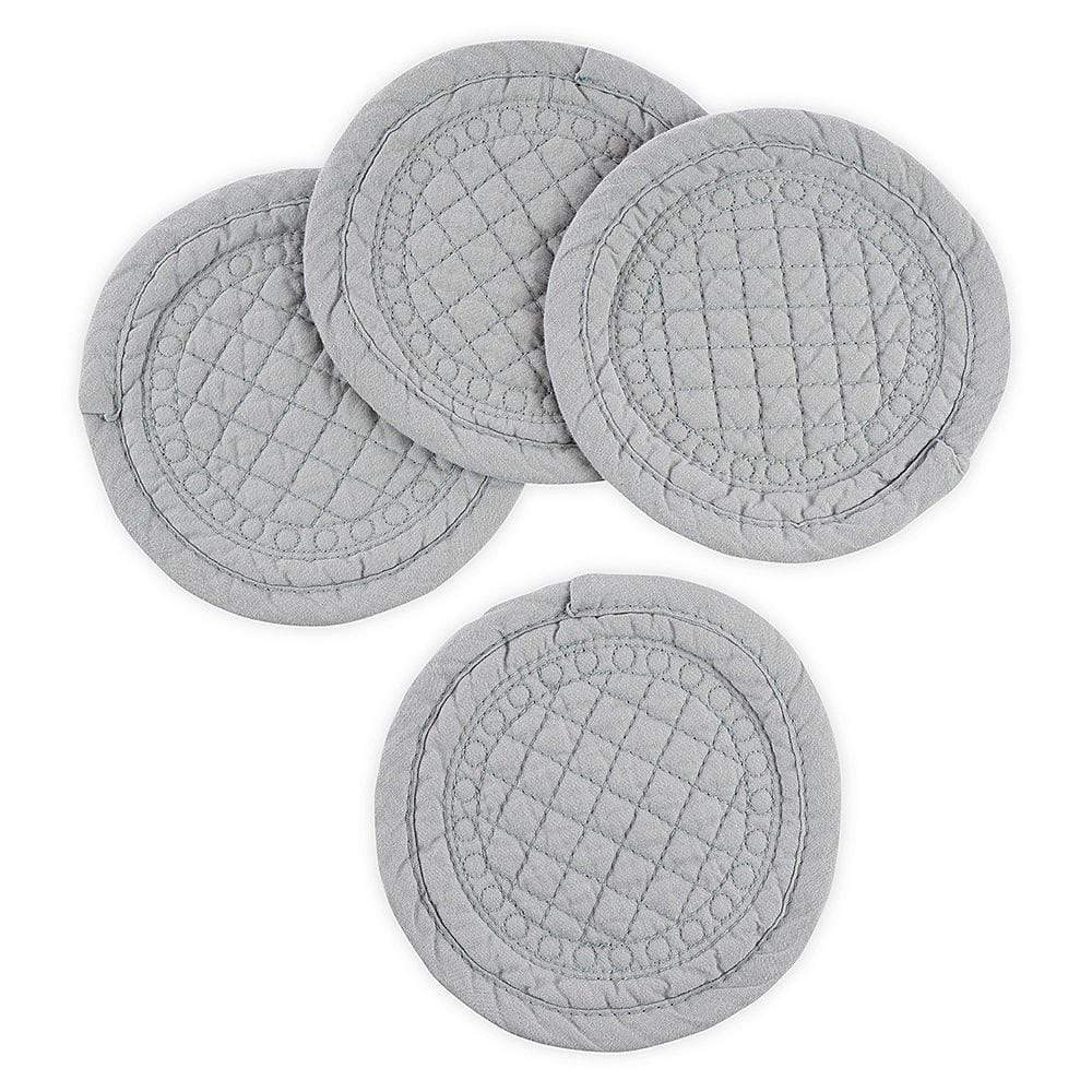 Mary Berry Set of 4 Signature Coasters in Grey - SAK Home
