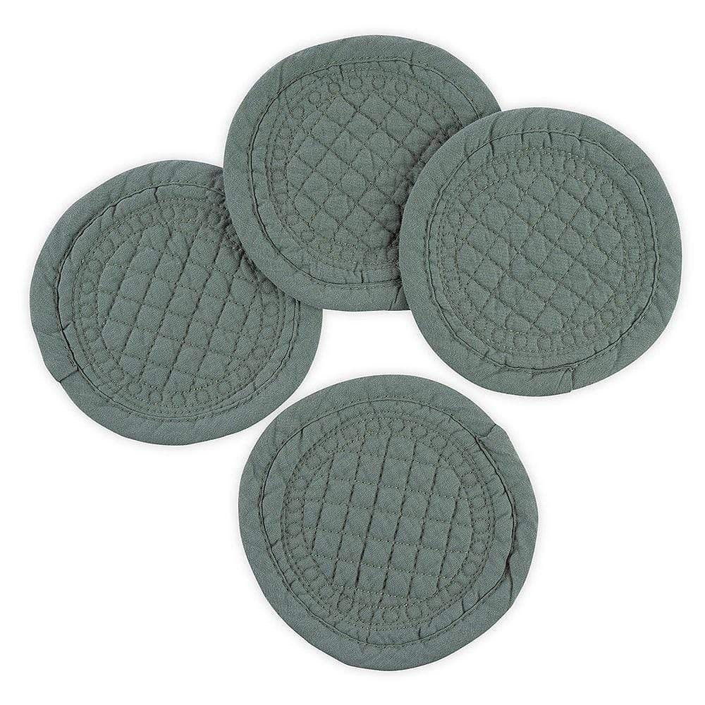Mary Berry Set of 4 Signature Coasters in Sea Green - SAK Home
