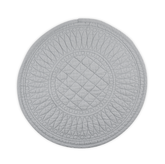 Mary Berry Signature Cotton Placemat in Grey - SAK Home