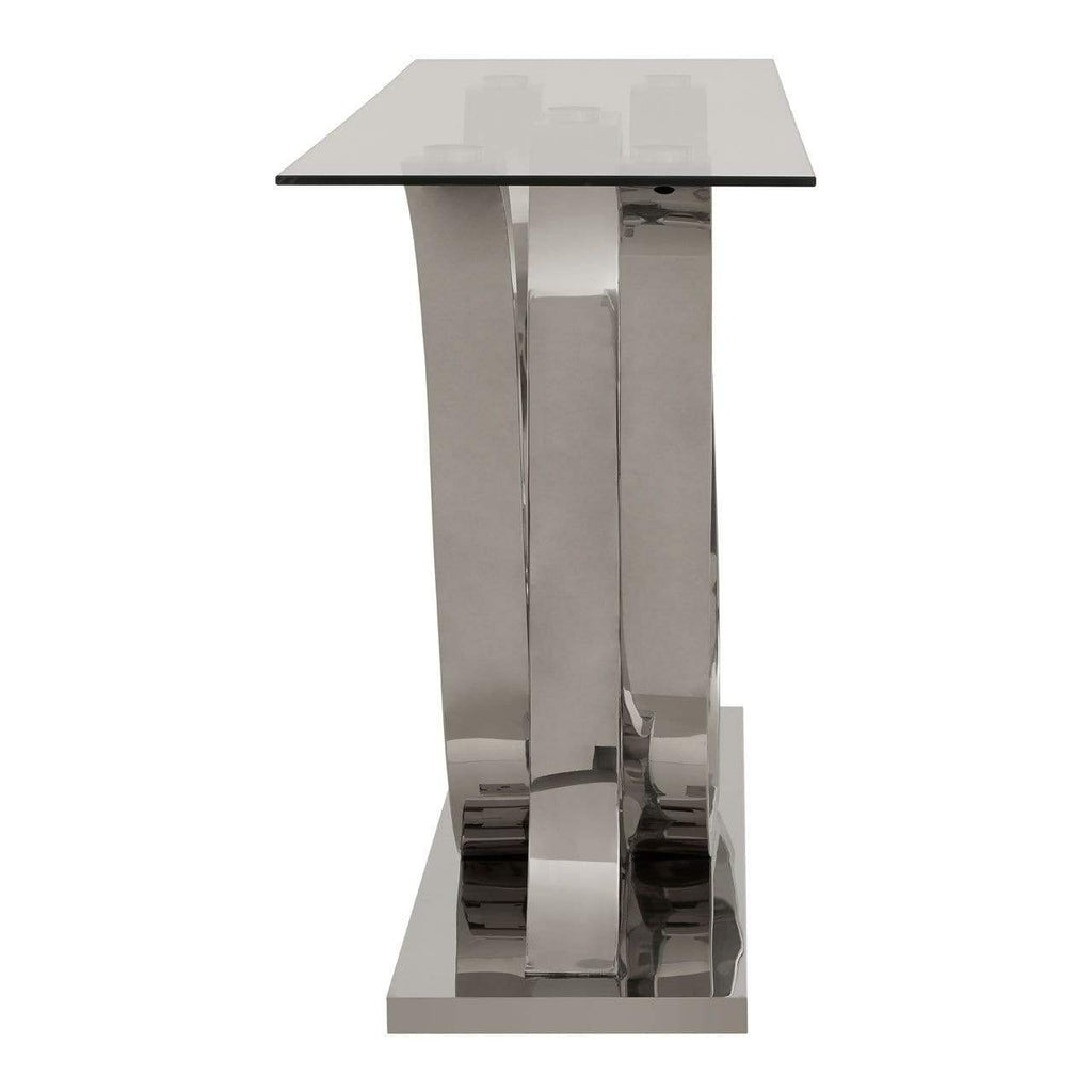 Alisa Curved Base Console Table - SAK Home