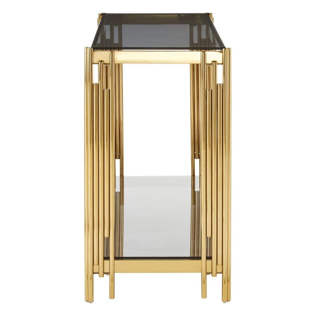 Alviro Linear Design Console Table - SAK Home