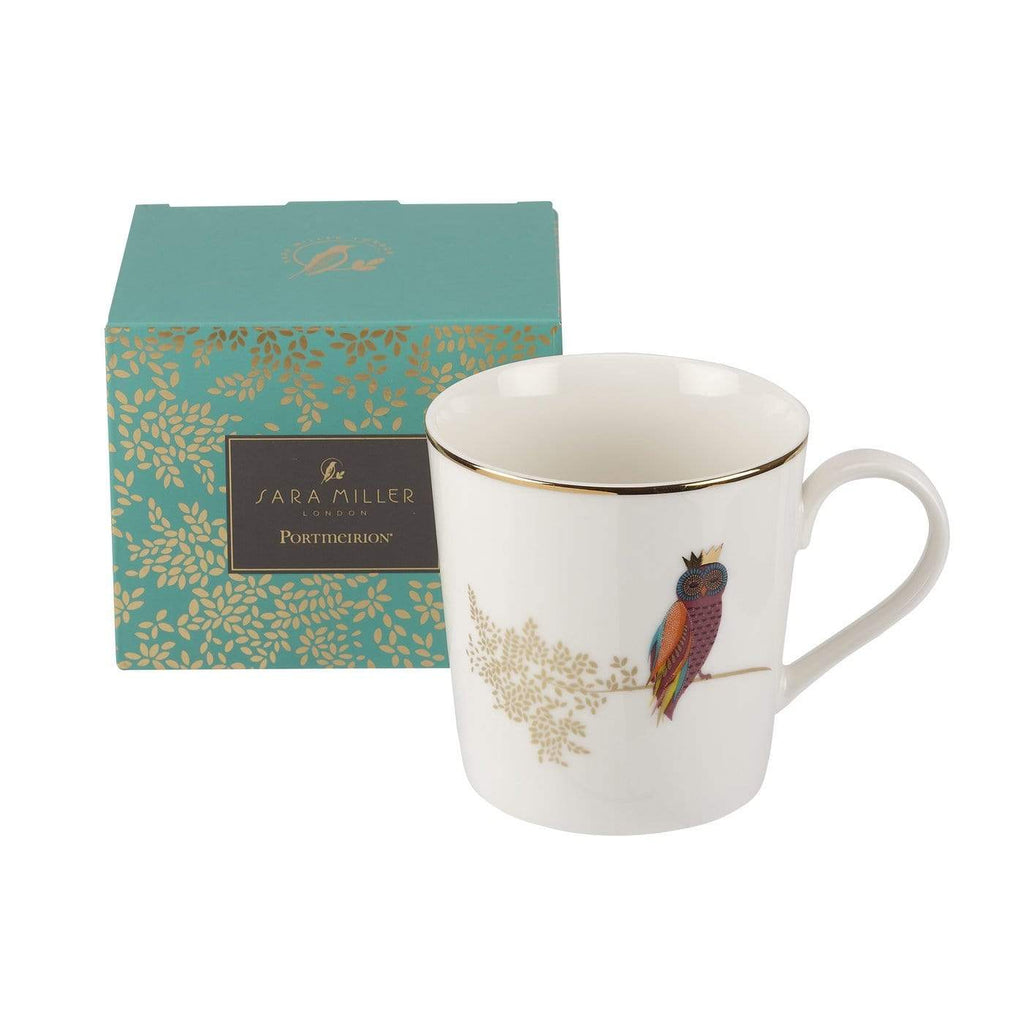 Sara Miller London Opulent Owl Mug - SAK Home