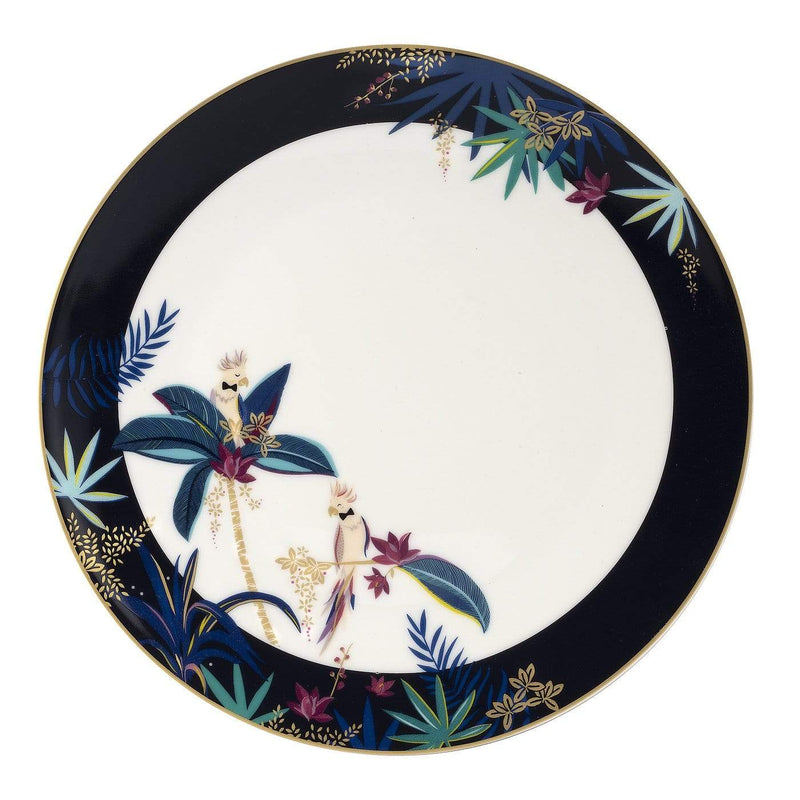 Sara Miller London Round Platter - Cockatoo - SAK Home
