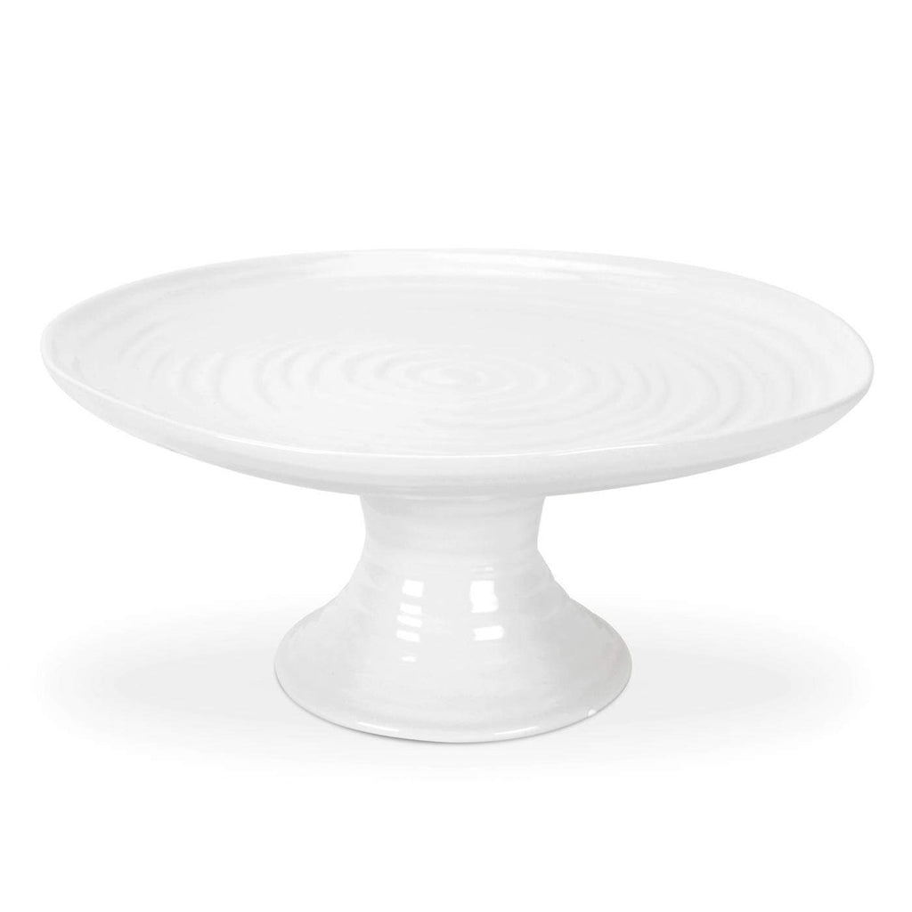 Sophie Conran for Portmeirion White Small Footed Cake Plate - SAK Home