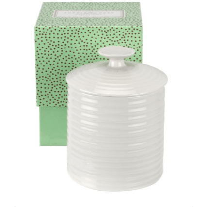 Sophie Conran for Portmeirion White Small Storage Jar 10.5cm - SAK Home