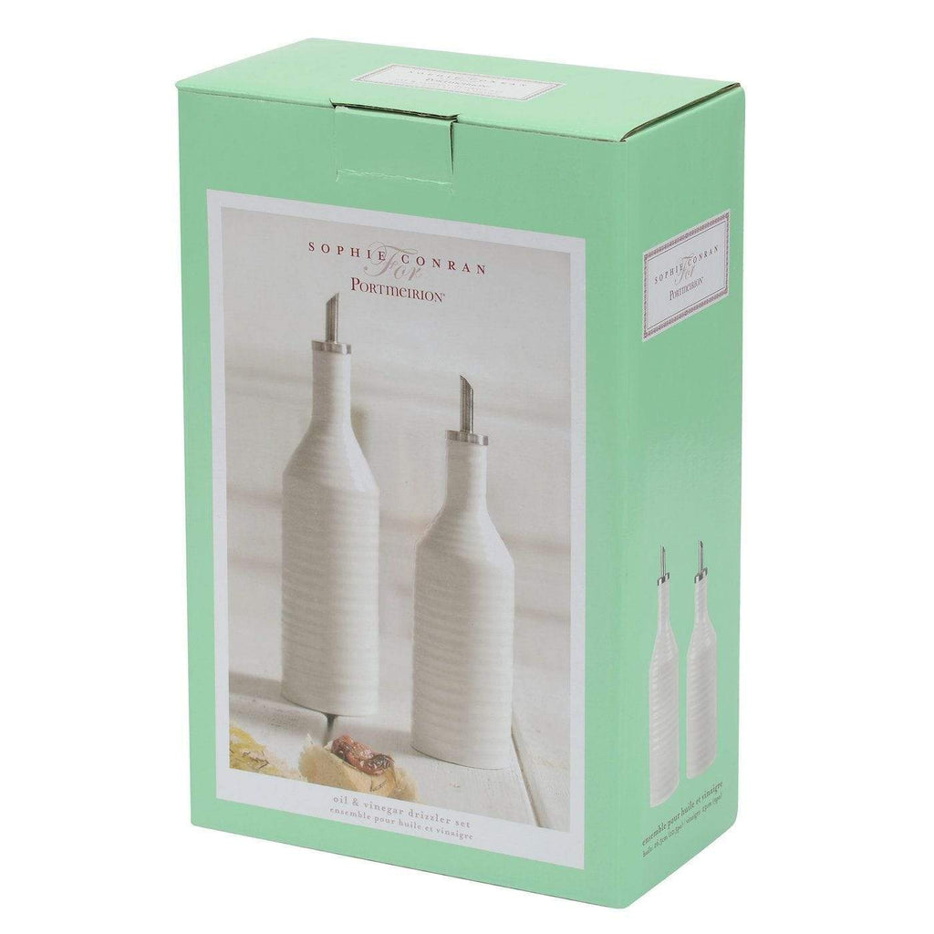 Sophie Conran White Oil and Vinegar Drizzler Set - SAK Home