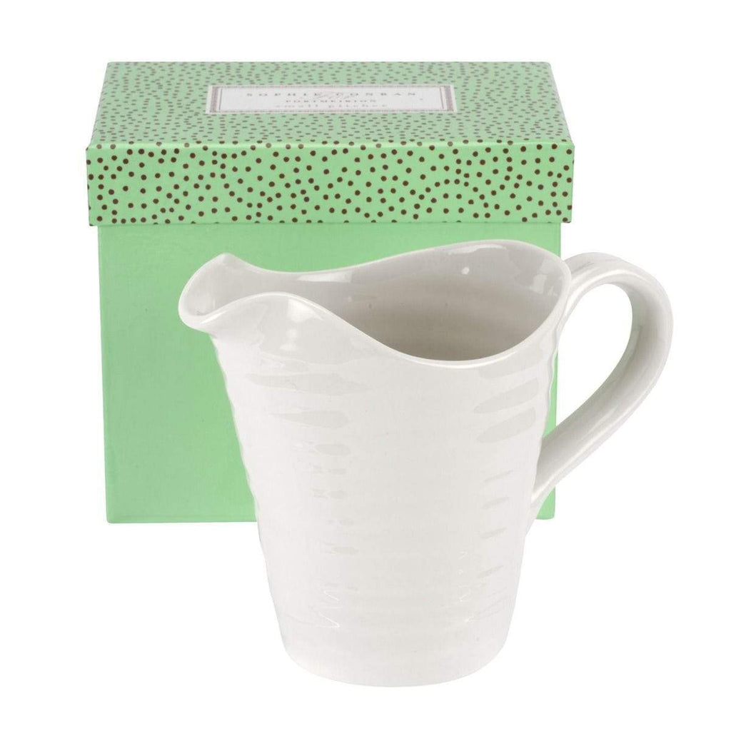 Sophie Conran for Portmeirion White Small Pitcher - SAK Home