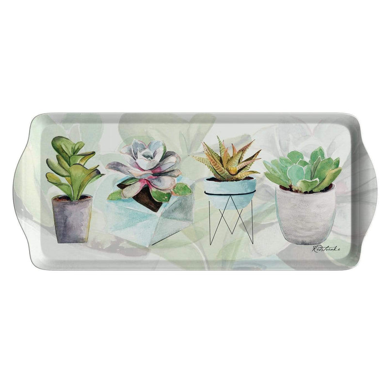 Succulents Sandwich Tray - SAK Home