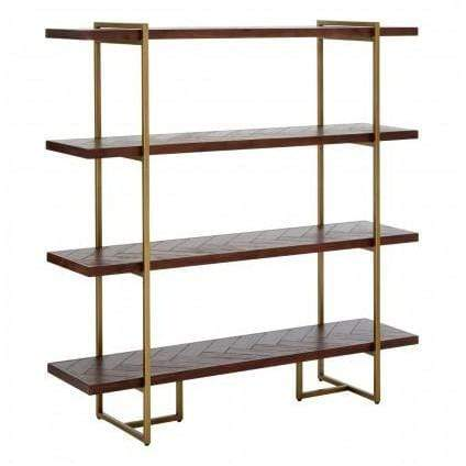Bronzon Bookcase - SAK Home