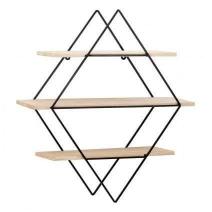 Pimlico 3 Tier Rhombus Shelves - SAK Home