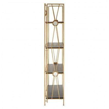 Mona 4 Tier Design Folding Shelf Unit - SAK Home