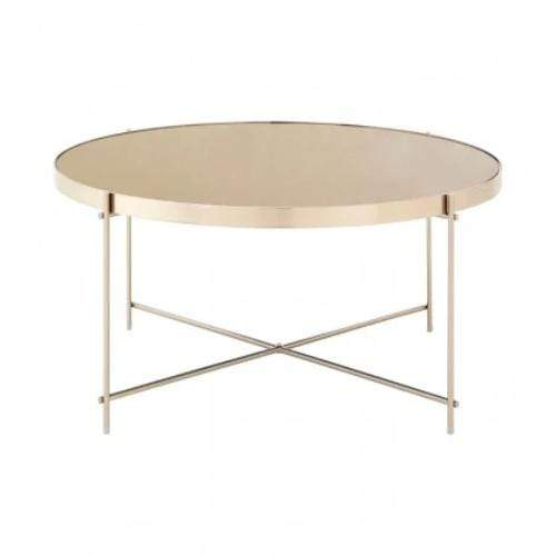 Alisa Grey Mirror Coffee Table - SAK Home