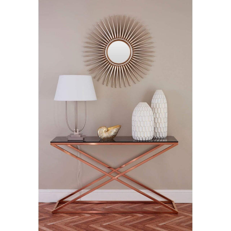 Cc Console Table Gold - SAK Home