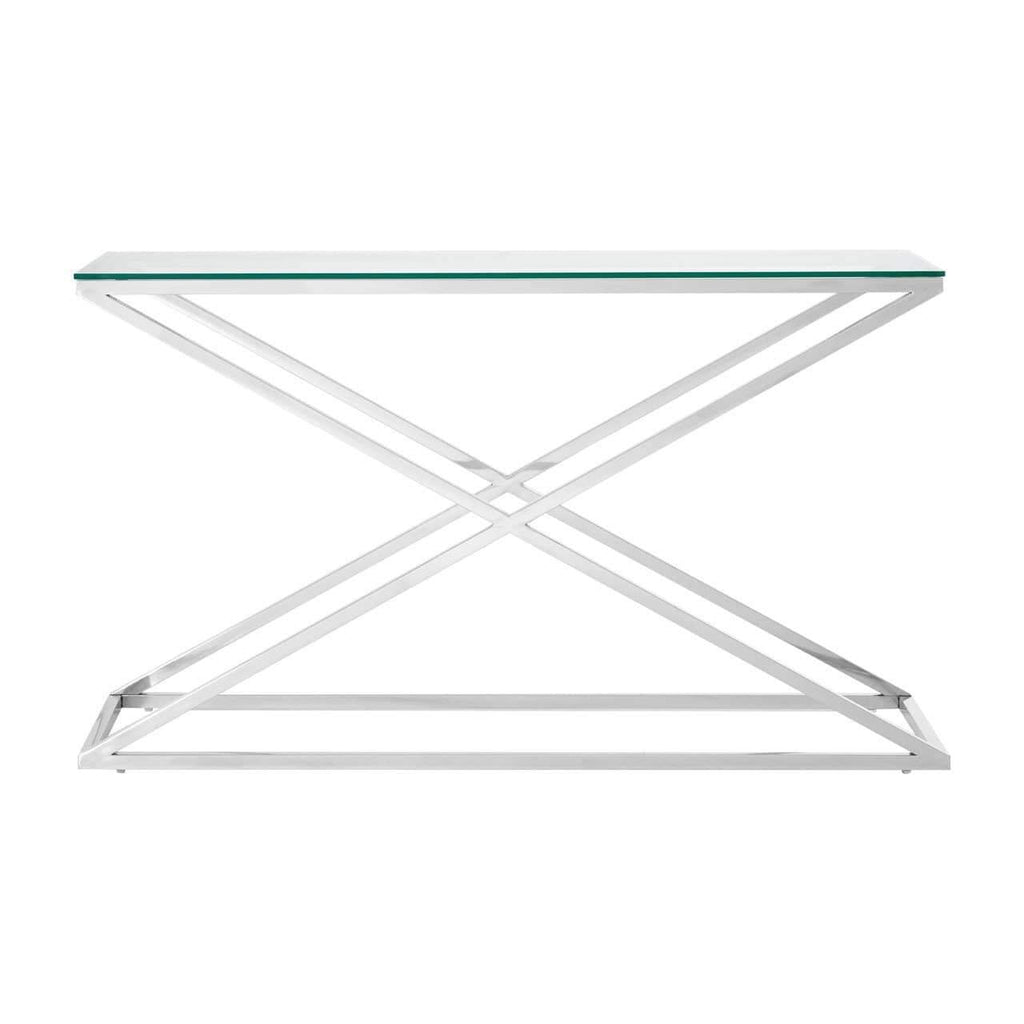 Cc Console Table Silver - SAK Home
