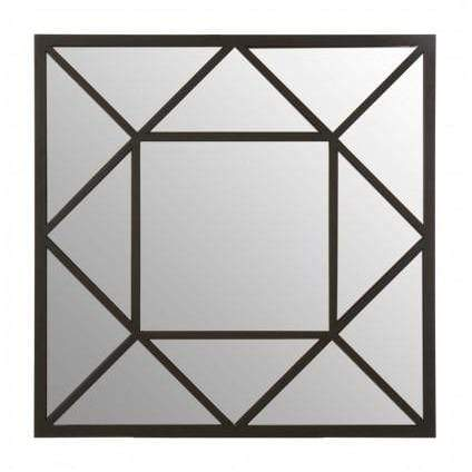 Descartes Triangular Design Wall Mirror - SAK Home