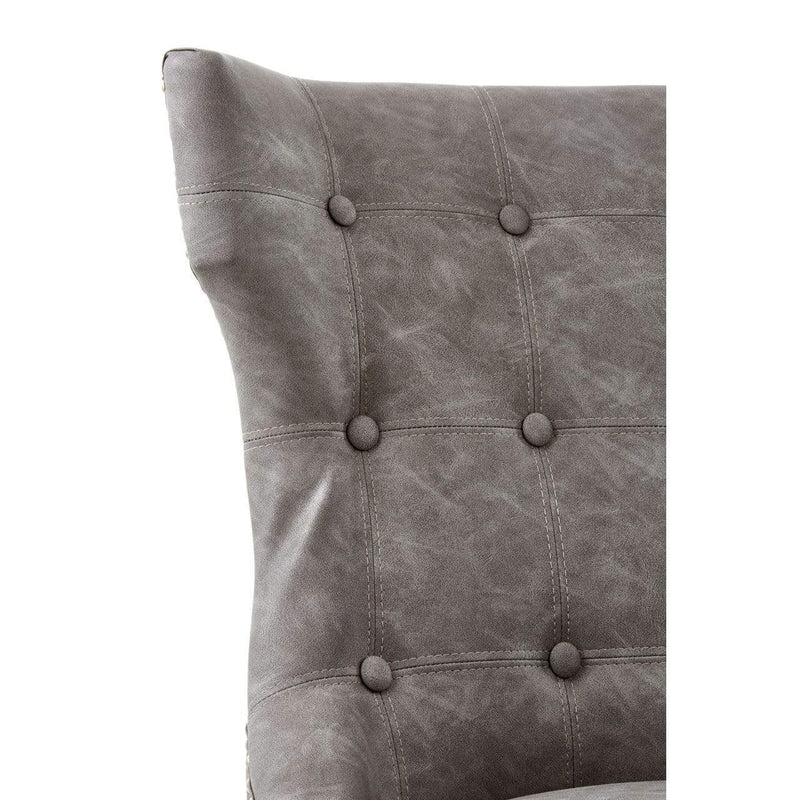Sydney Faux Leather Dining Chair - SAK Home