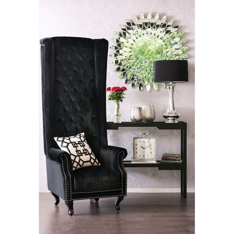 Baker Black Tall Porter Chair - SAK Home