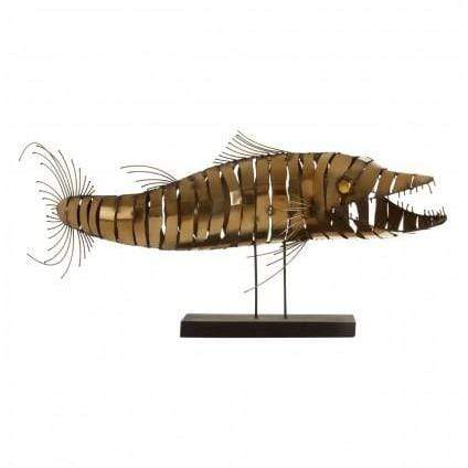 Zana Barracuda Sculpture - SAK Home