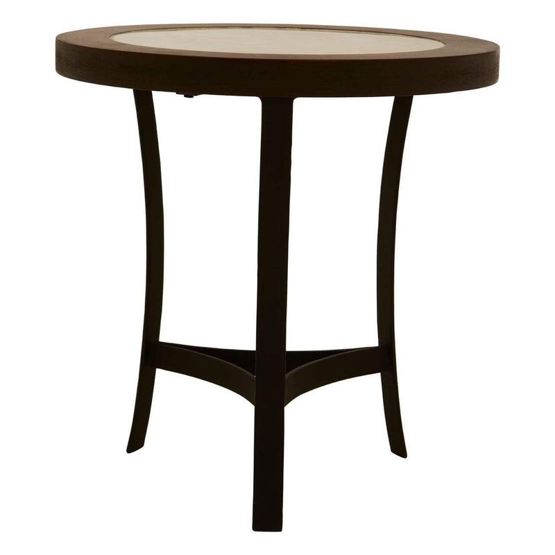 Zara Side Table With Curved Base - SAK Home