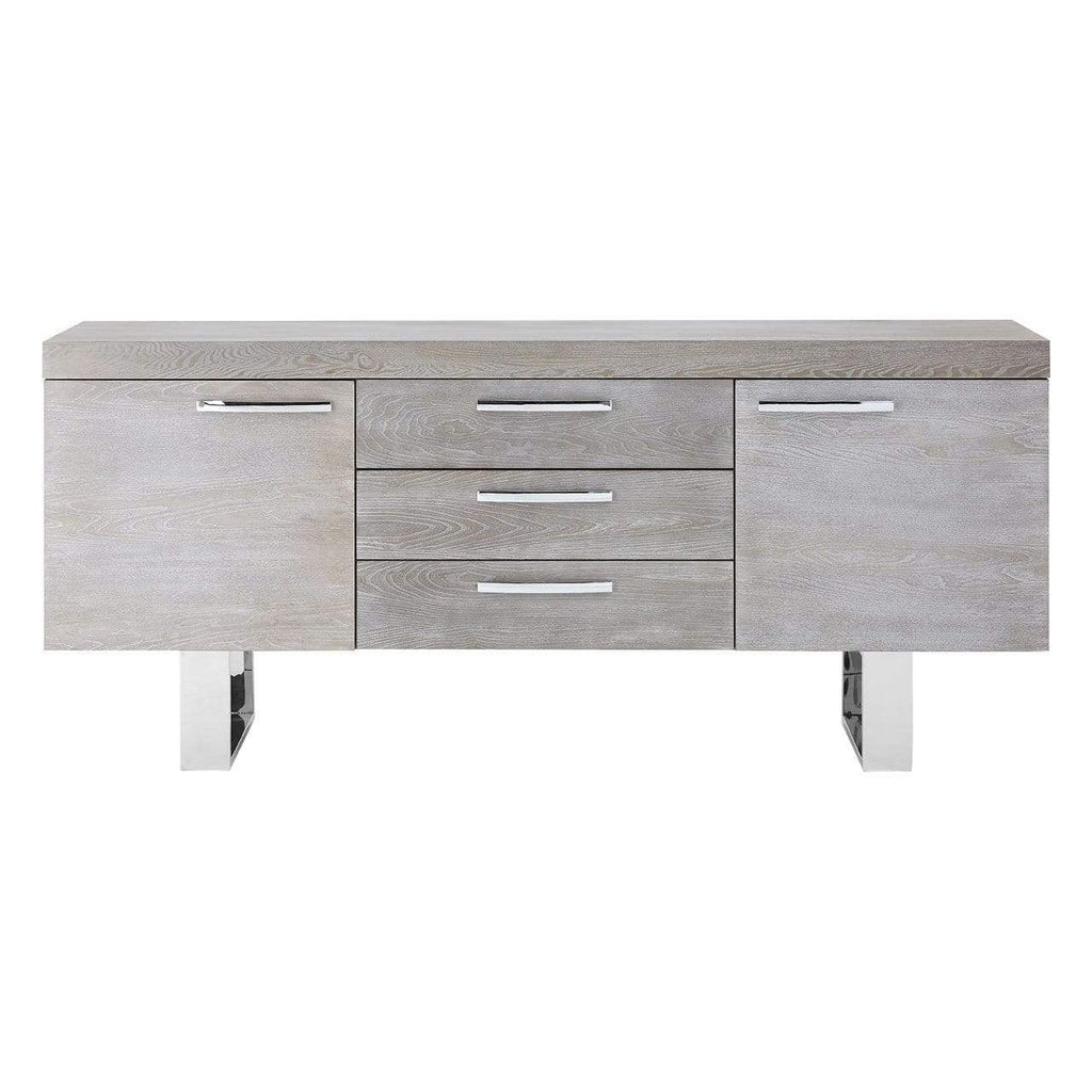 Grey Eli Wood Sideboard - SAK Home