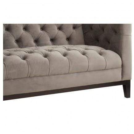 Sash 2 Seat Grey Sofa - SAK Home