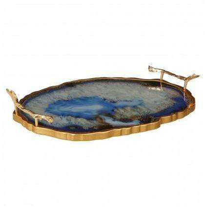 Selina Agate Effect Tray - SAK Home