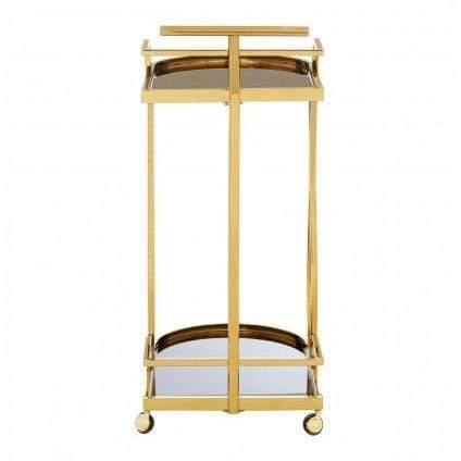 Nova  2 Tier Gold Wavy Trolley - SAK Home