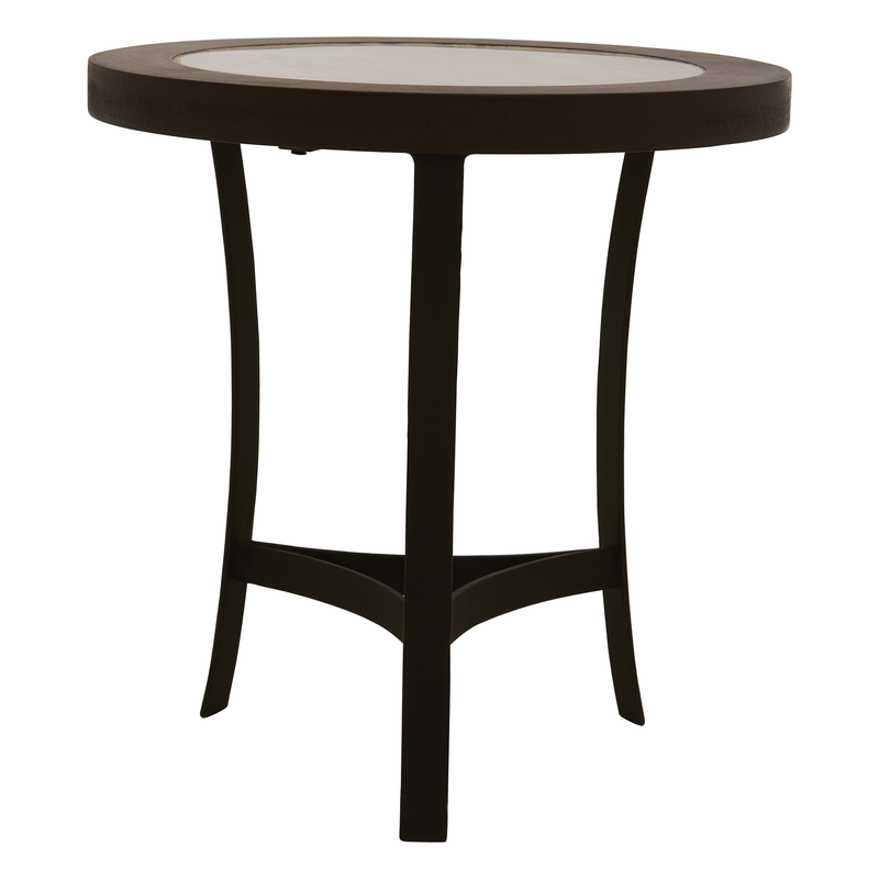 Vasco Side Table with Curved Base - SAK Home
