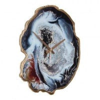 Aelina Multicolour Agate Effect Wall Clock - SAK Home