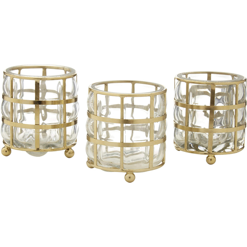 Martina Set of 3 Tealights - SAK Home