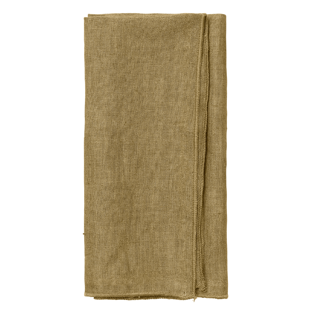 Linen Skagen Napkin - Curry - SAK Home