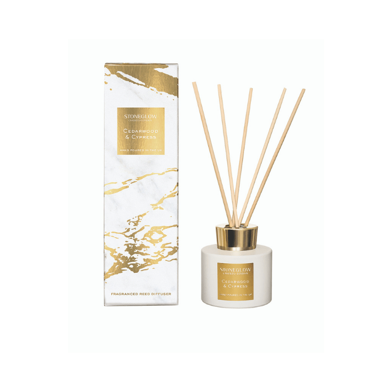 Luna - Cedarwood & Cypress Reed Diffuser - SAK Home