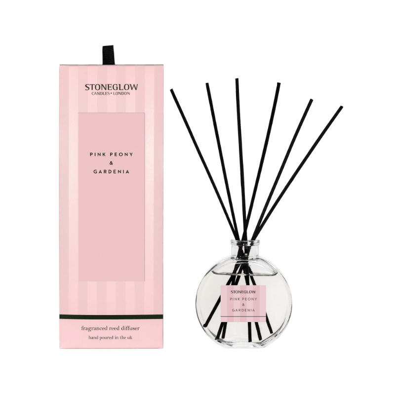 Modern Classics NEW - Pink Peony & Gardenia Reed Diffuser - SAK Home